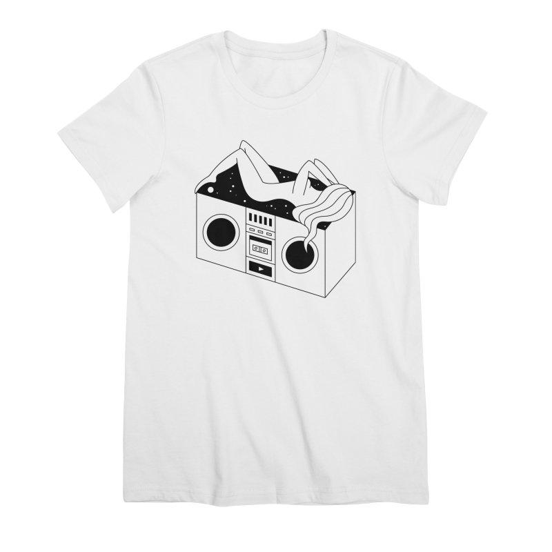 Euphoria Women's Premium T-Shirt by PENARULIT's Artist Shop
