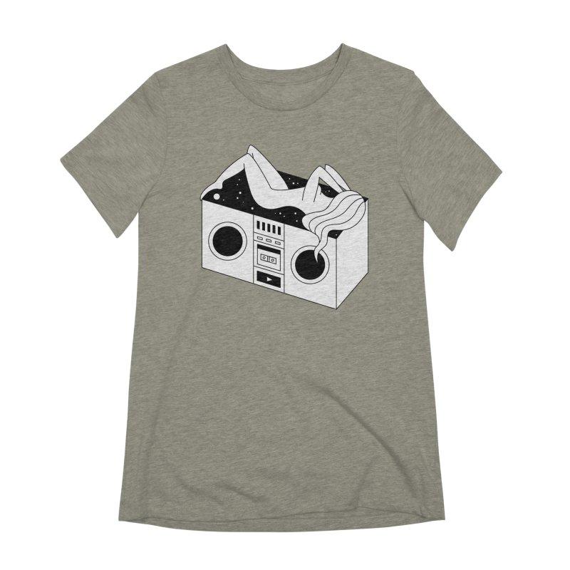 Euphoria Women's Extra Soft T-Shirt by PENARULIT's Artist Shop