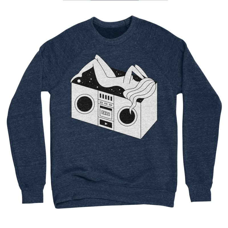 Euphoria Men's Sponge Fleece Sweatshirt by PENARULIT's Artist Shop