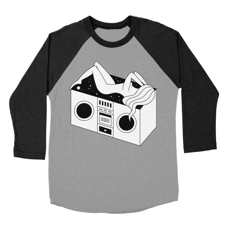 Euphoria Women's Baseball Triblend Longsleeve T-Shirt by PENARULIT's Artist Shop
