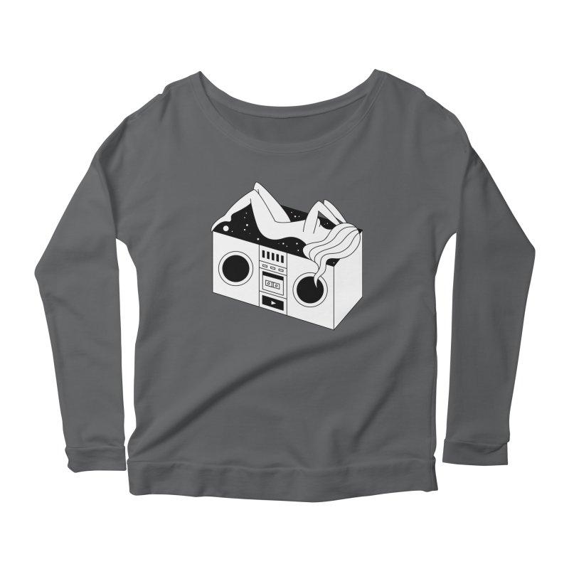Euphoria Women's Scoop Neck Longsleeve T-Shirt by PENARULIT's Artist Shop