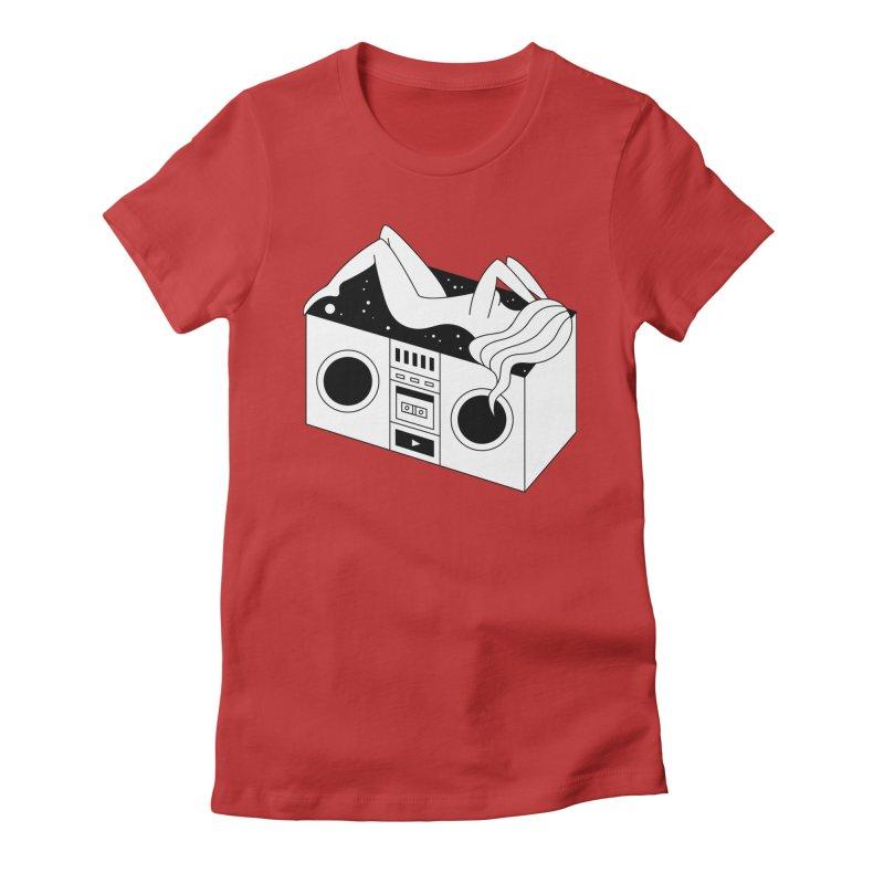 Euphoria Women's Fitted T-Shirt by PENARULIT's Artist Shop