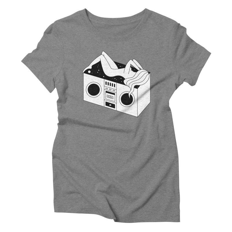 Euphoria Women's Triblend T-Shirt by PENARULIT's Artist Shop