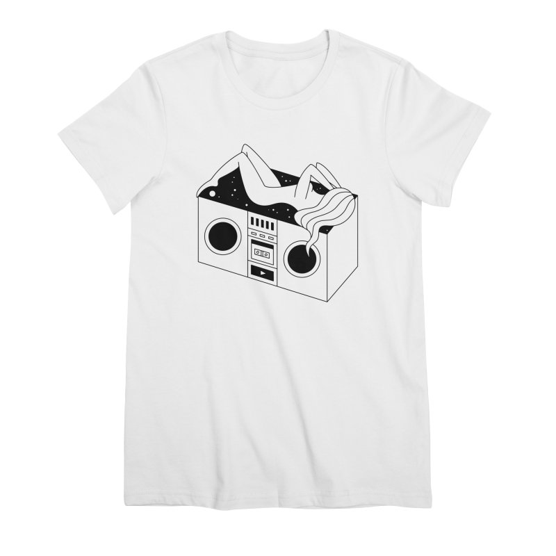 Euphoria Women's Premium T-Shirt by Ekaterina Zimodro's Artist Shop