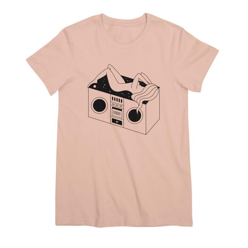 Euphoria Women's Premium T-Shirt by PENARULIT illustration