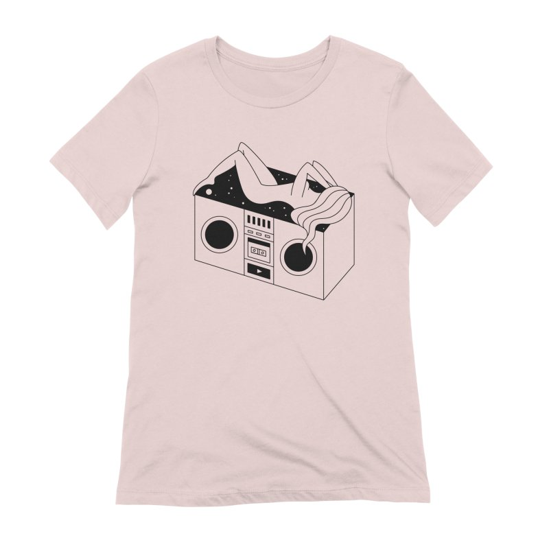 Euphoria Women's Extra Soft T-Shirt by Ekaterina Zimodro's Artist Shop
