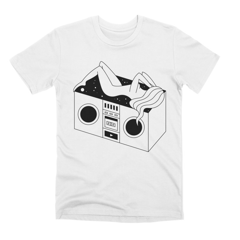 Euphoria Men's Premium T-Shirt by PENARULIT illustration