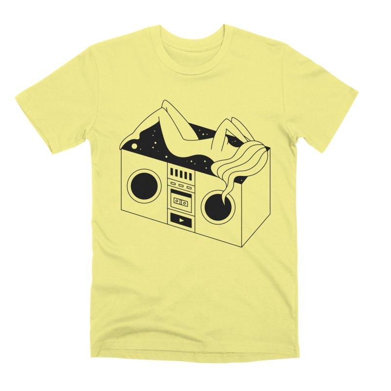 Euphoria Men's Premium T-Shirt by PENARULIT illustration