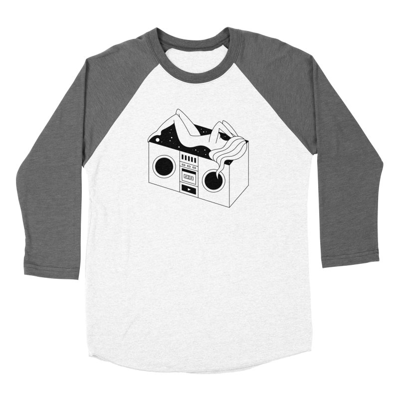 Euphoria Women's Baseball Triblend Longsleeve T-Shirt by PENARULIT illustration