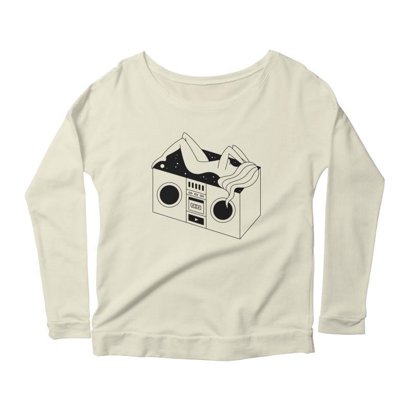Euphoria Women's Scoop Neck Longsleeve T-Shirt by Ekaterina Zimodro's Artist Shop