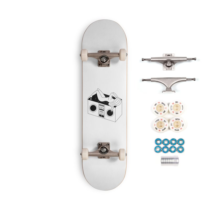 Euphoria Accessories Complete - Premium Skateboard by PENARULIT illustration