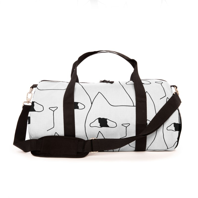 Cat Invasion Accessories Bag by PENARULIT illustration