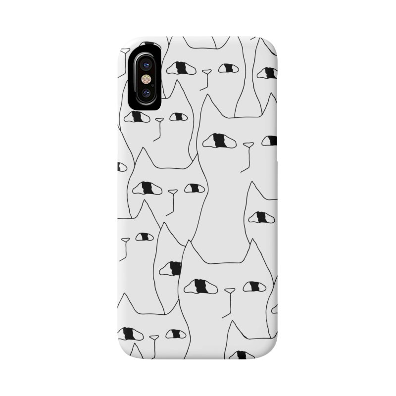 Cat Invasion Accessories Phone Case by PENARULIT's Artist Shop