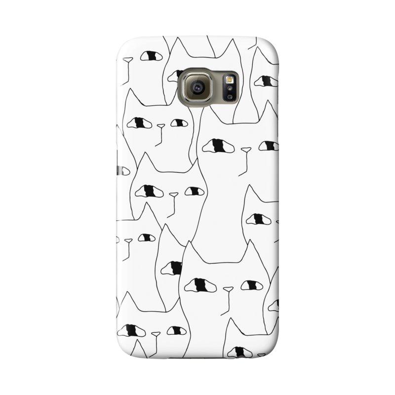 Cat Invasion Accessories Phone Case by Ekaterina Zimodro's Artist Shop
