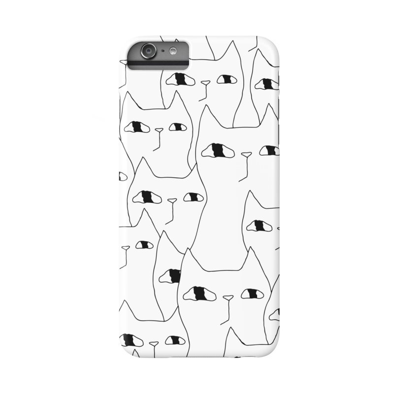 Cat Invasion Accessories Phone Case by PENARULIT illustration