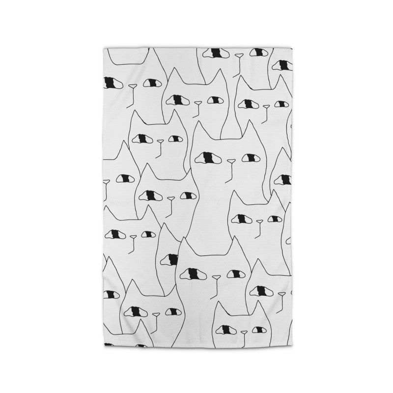 Cat Invasion Home Rug by PENARULIT illustration