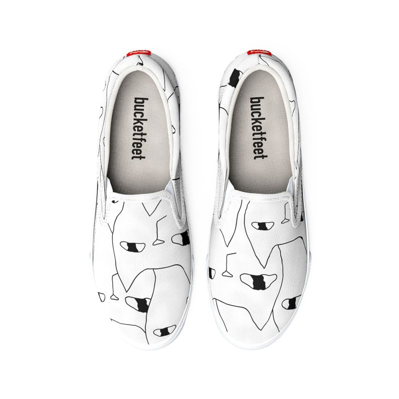 Cat Invasion Women's Shoes by PENARULIT illustration