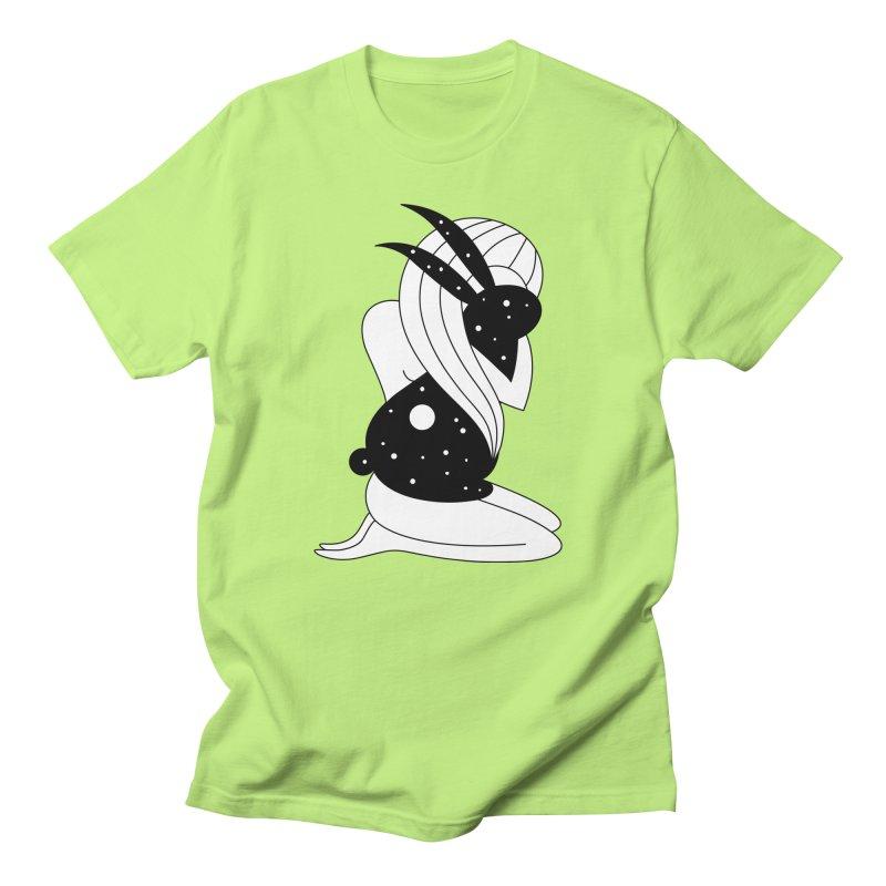 Follow The White Rabbit Women's Regular Unisex T-Shirt by PENARULIT's Artist Shop