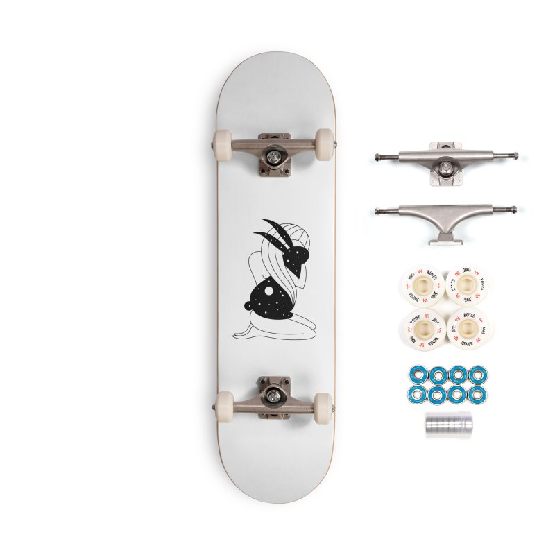 Follow The White Rabbit Accessories Complete - Premium Skateboard by PENARULIT illustration