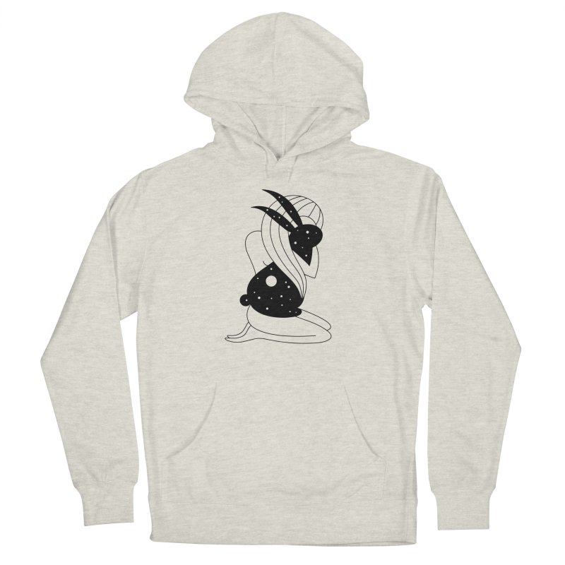 Follow The White Rabbit Men's French Terry Pullover Hoody by PENARULIT illustration