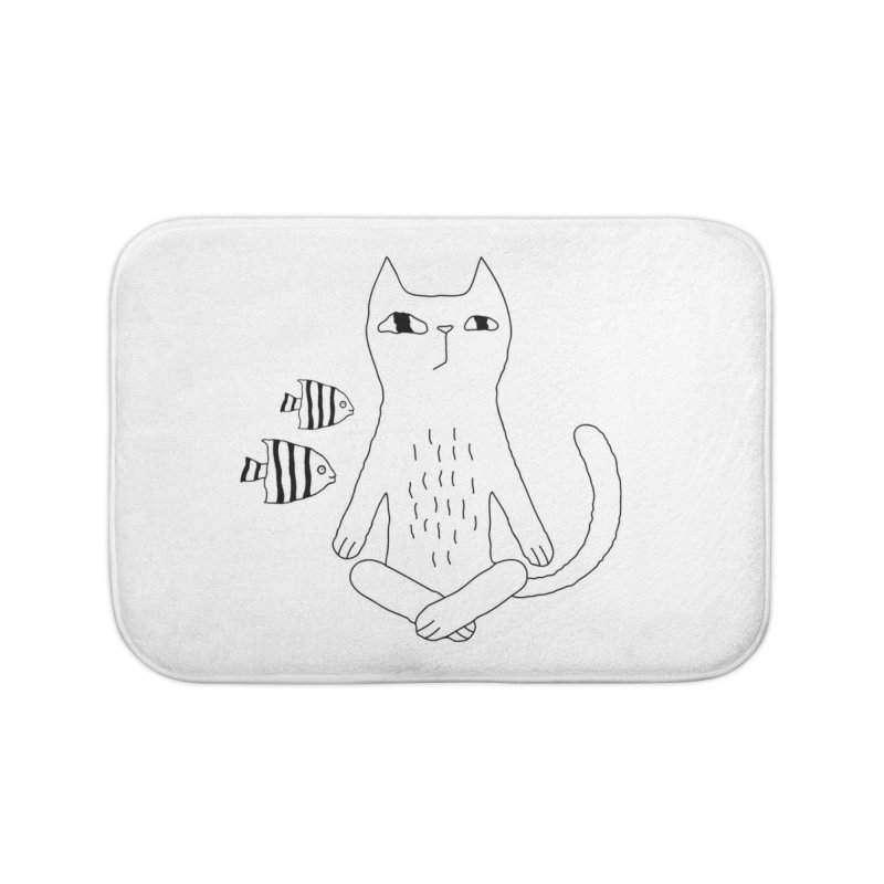Catvana Home Bath Mat by PENARULIT illustration