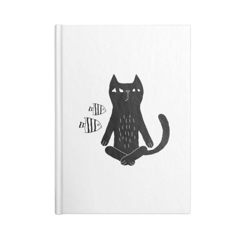 Catvana Accessories Notebook by Ekaterina Zimodro's Artist Shop