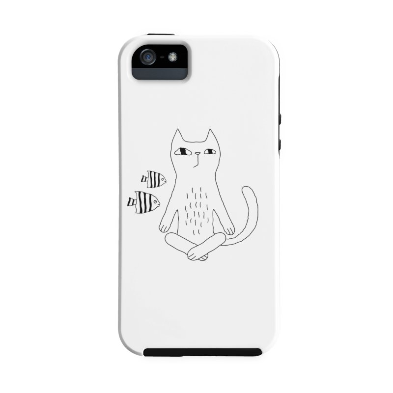 Catvana Accessories Phone Case by Ekaterina Zimodro's Artist Shop