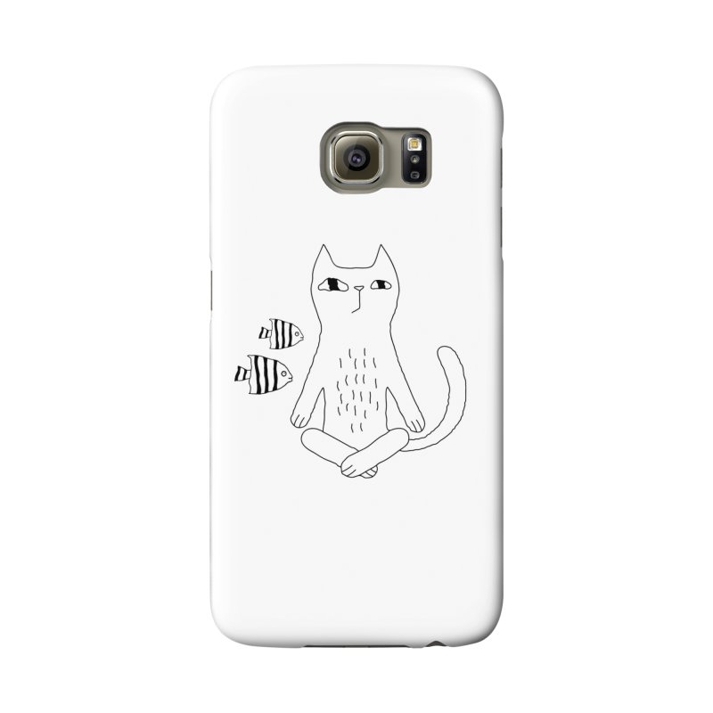 Catvana Accessories Phone Case by PENARULIT illustration