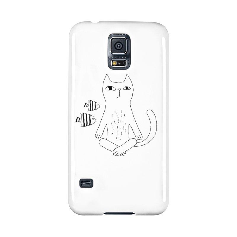 Catvana Accessories Phone Case by PENARULIT illustration