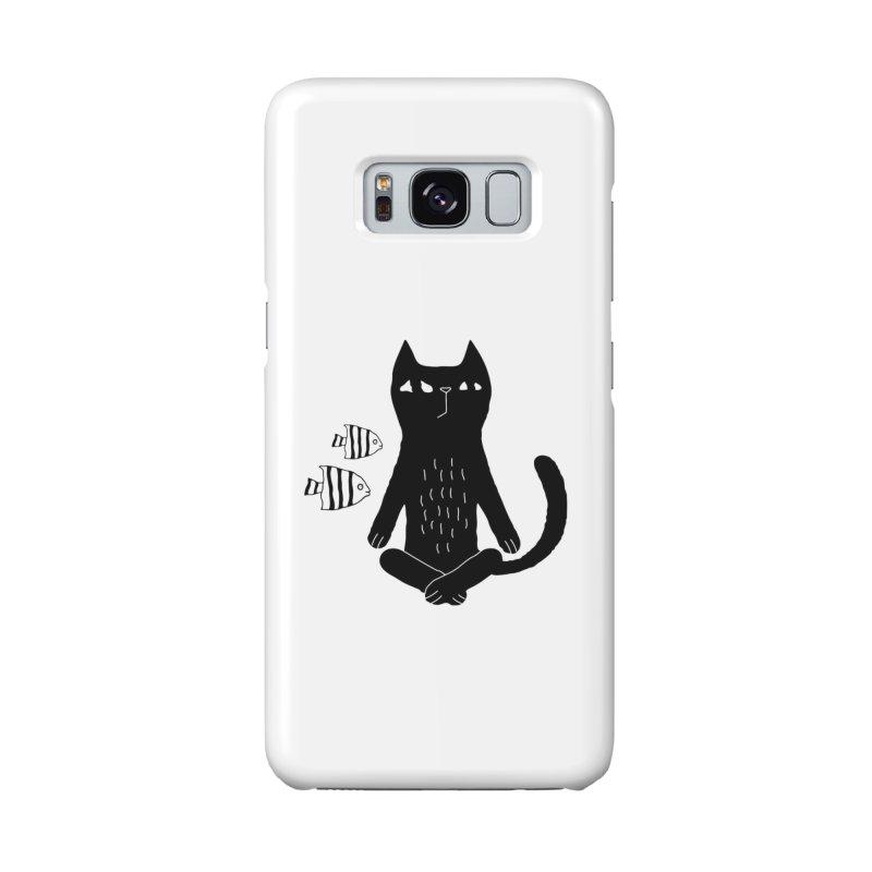 Catvana Accessories Phone Case by Ekaterina Zimodro's Artist Shop
