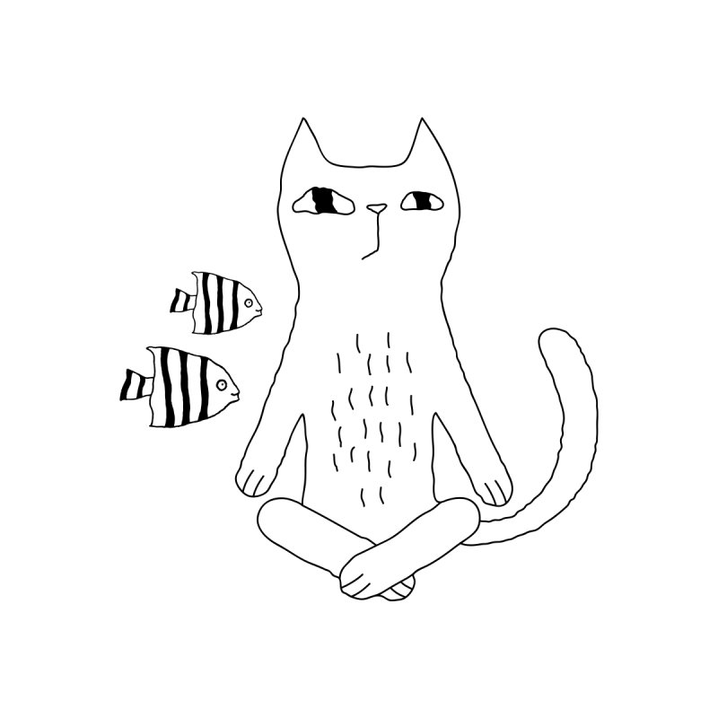 Catvana Accessories Sticker by PENARULIT illustration
