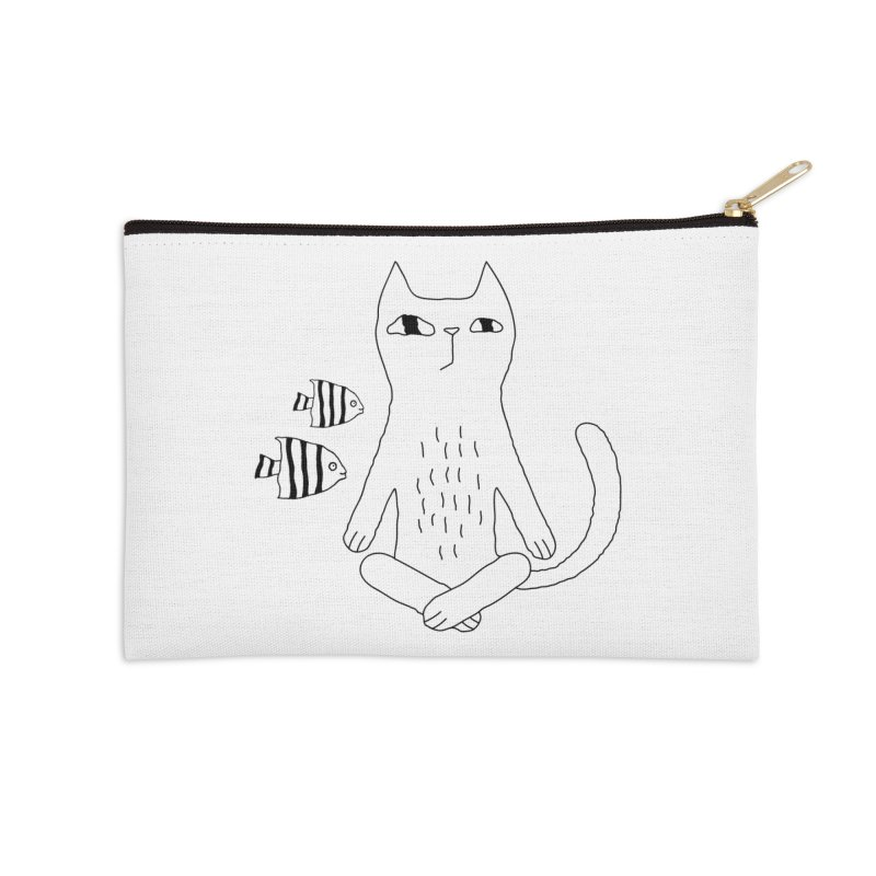 Catvana Accessories Zip Pouch by PENARULIT's Artist Shop