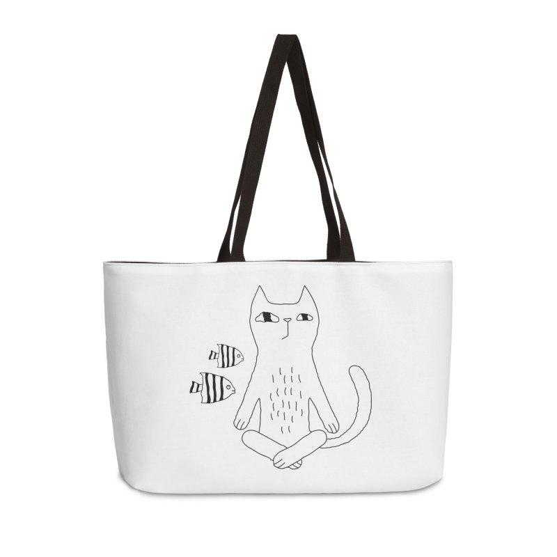 Catvana Accessories Weekender Bag Bag by PENARULIT illustration