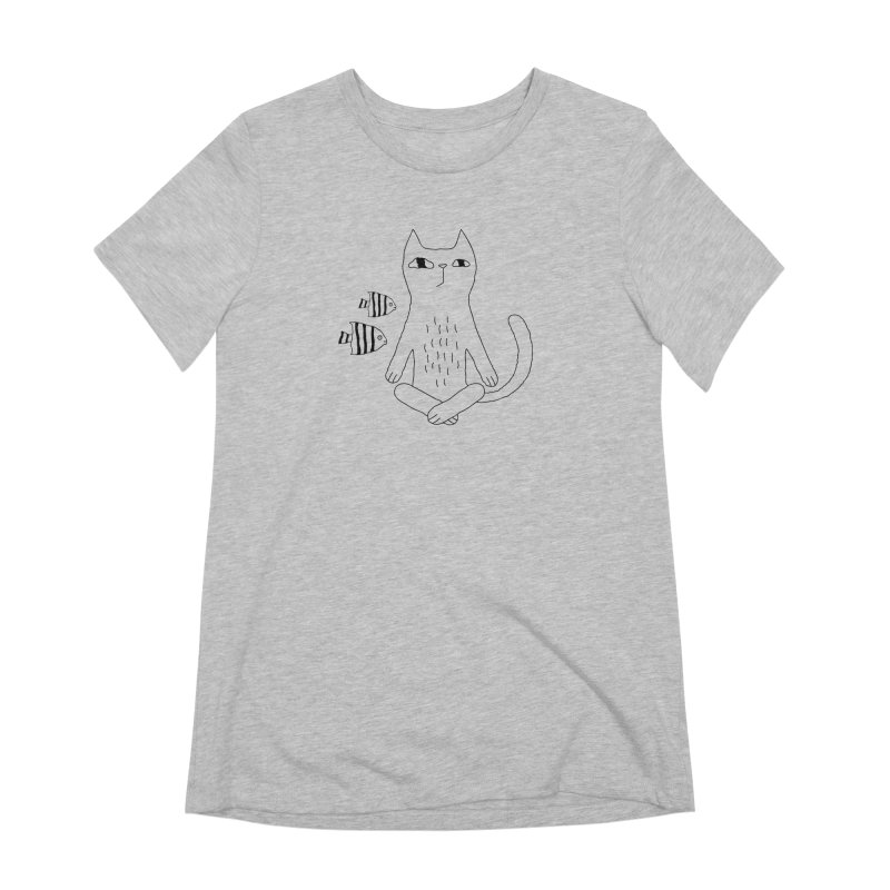 Catvana Women's Extra Soft T-Shirt by PENARULIT's Artist Shop