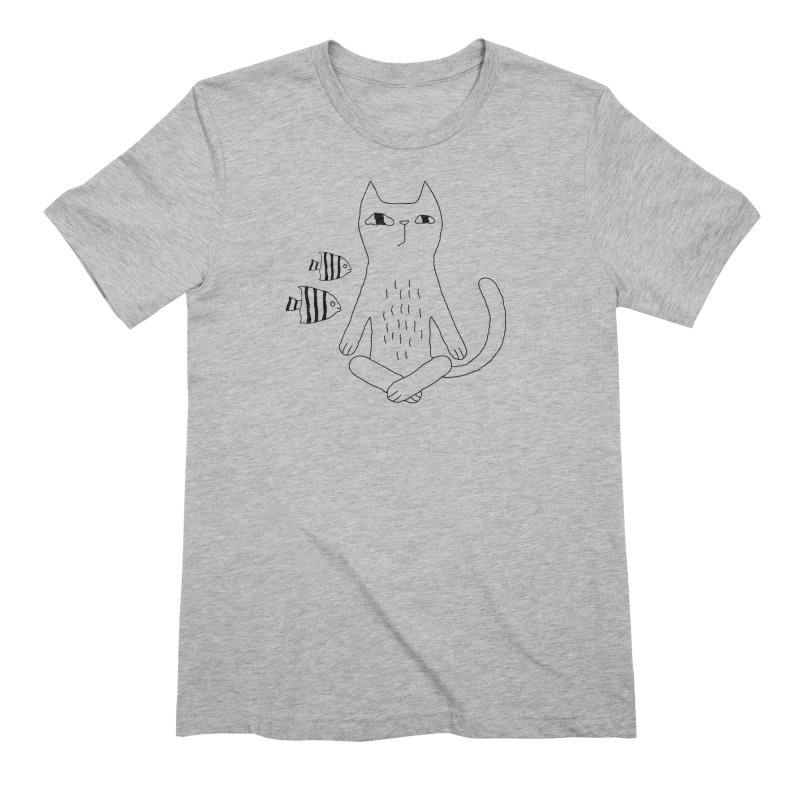 Catvana Men's Extra Soft T-Shirt by PENARULIT illustration