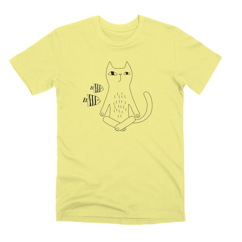 Catvana Men's Premium T-Shirt by PENARULIT illustration
