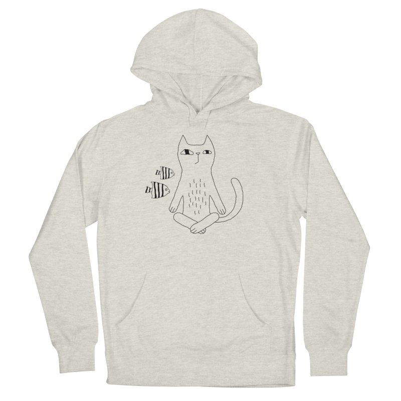 Catvana Men's French Terry Pullover Hoody by PENARULIT illustration