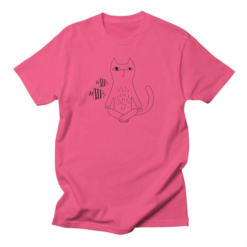 Catvana Women's Regular Unisex T-Shirt by PENARULIT's Artist Shop