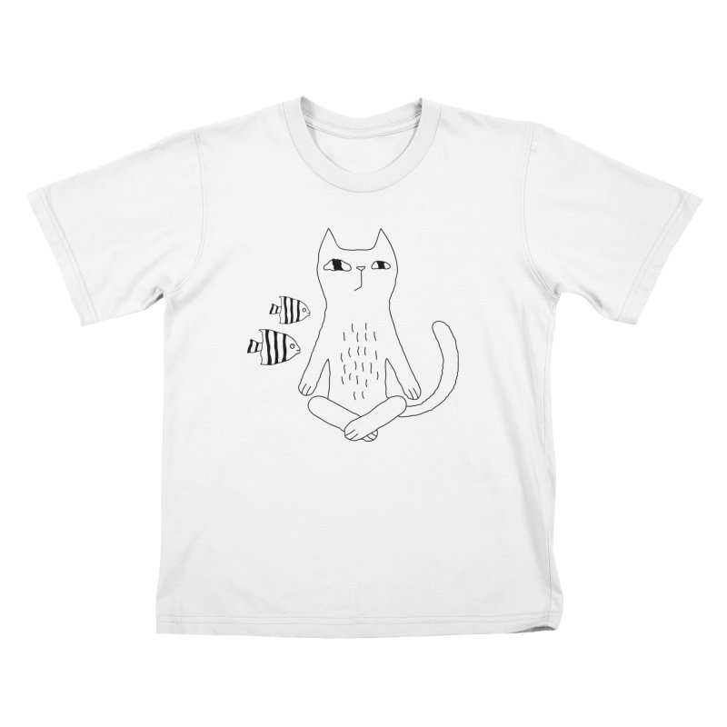 Catvana Kids T-Shirt by PENARULIT's Artist Shop