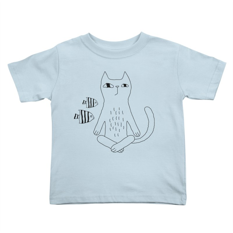 Catvana Kids Toddler T-Shirt by PENARULIT's Artist Shop