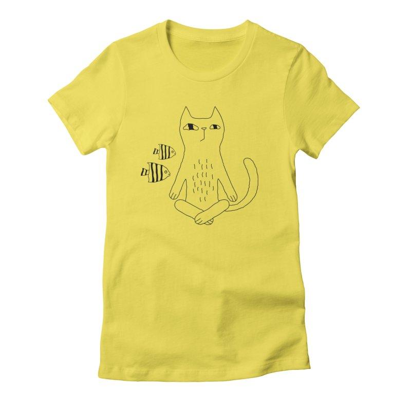 Catvana Women's T-Shirt by PENARULIT's Artist Shop