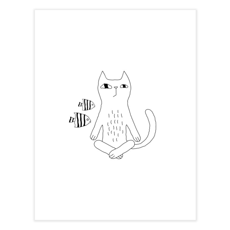 Catvana Home Fine Art Print by PENARULIT's Artist Shop