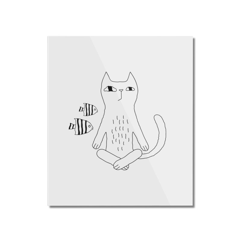 Catvana Home Mounted Acrylic Print by PENARULIT's Artist Shop