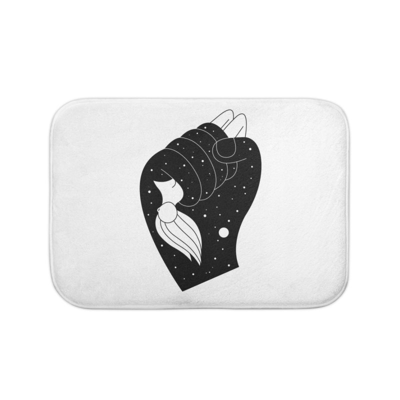 Insomnia Home Bath Mat by PENARULIT illustration