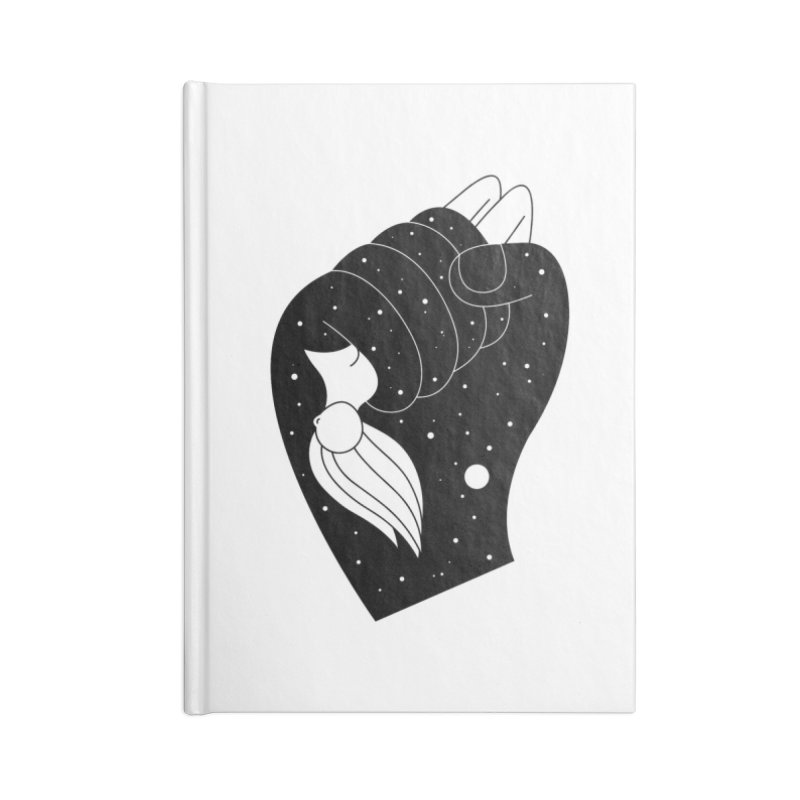 Insomnia Accessories Lined Journal Notebook by PENARULIT illustration