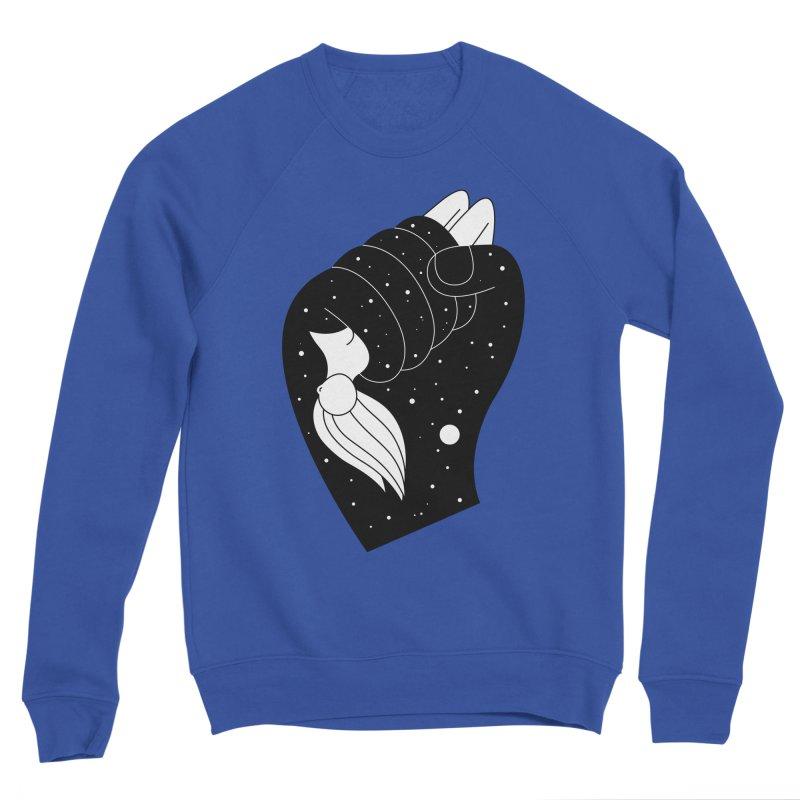 Insomnia Women's Sponge Fleece Sweatshirt by PENARULIT's Artist Shop