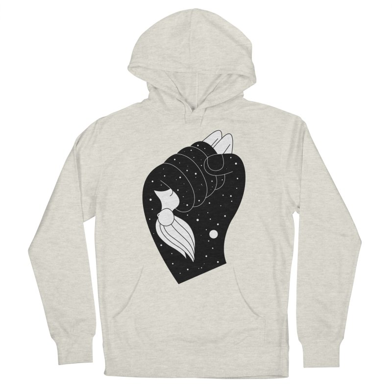 Insomnia Men's French Terry Pullover Hoody by PENARULIT's Artist Shop