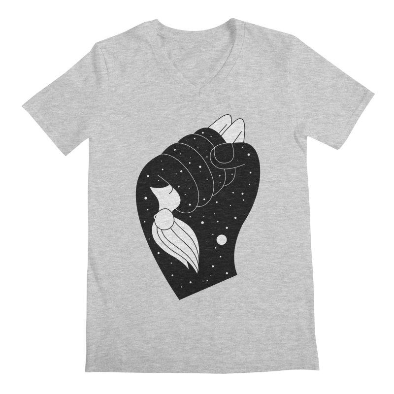 Insomnia Men's Regular V-Neck by PENARULIT's Artist Shop