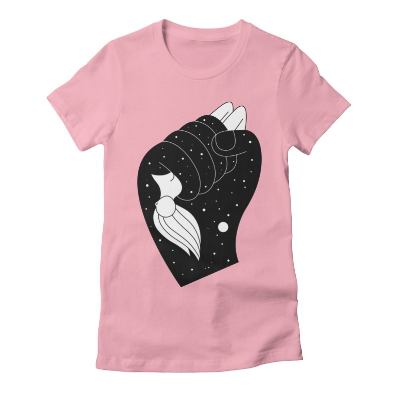 Insomnia Women's Fitted T-Shirt by PENARULIT's Artist Shop