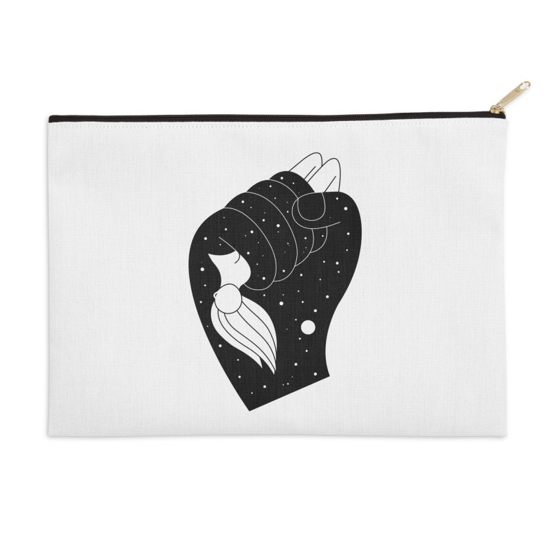 Insomnia Accessories Zip Pouch by PENARULIT illustration